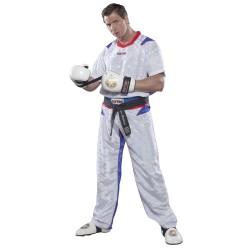 Top Ten PQ Mesh Kickboxuniform Weiss Blau