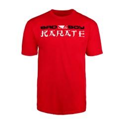 Abverkauf Bad Boy Karate Discipline T-Shirt Red
