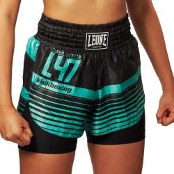 Leone 1947 Frauen Thai Shorts L47 grün