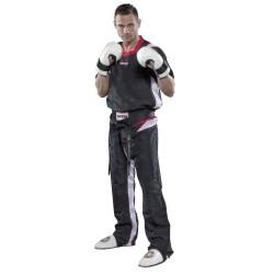 Top Ten PQ Mesh Kickboxuniform Schwarz Weiss
