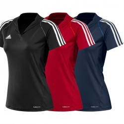 Abverkauf Adidas T12 Team ClimaCool Polo Damen