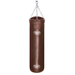 Green Hill Boxsack Leder Braun 120cm ungefüllt