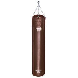 Green Hill Boxsack Leder Braun 150cm ungefüllt