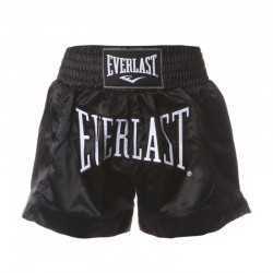 Everlast Thai Boxing Short Men Black Black EM6