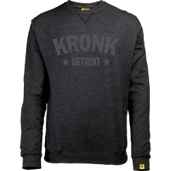 Kronk Detroit Stars Vintage Sweatshirt Black Heather