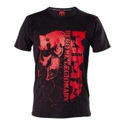 Legion Octagon Become Legionary Shirt Black Red
