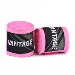 Vantage Combat Boxbandagen Pink 450cm