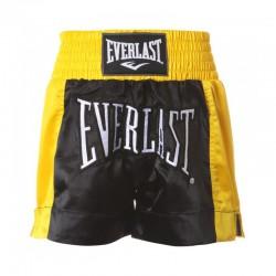 Abverkauf Everlast Thai Boxing Short Men Black Gold EM6