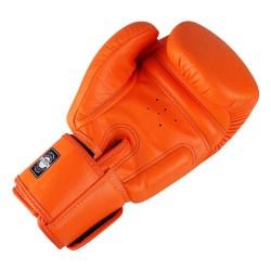 Twins BGVL 3 Boxing Gloves Orange Leather