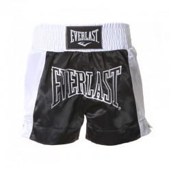 Everlast Thai Boxing Short Men Black White EM6