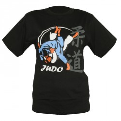 Dax T-Shirt Judo Uchimata 3D Schwarz