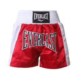 Everlast Thai Boxing Short Men Red White EM6