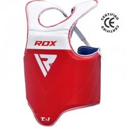 RDX Semi Kontakt Kampfweste T1 rot blau