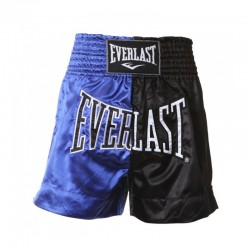 Everlast Thai Boxing Short Men Blue Black EM7