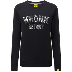 Kronk Detroit Camo Marl Sweatshirt Black