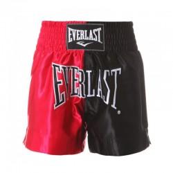 Everlast Thai Boxing Short Men Red Black EM7