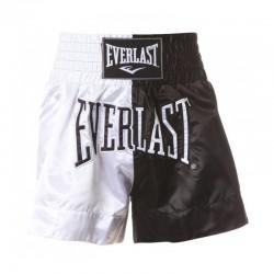 Everlast Thai Boxing Short Men White Black EM7
