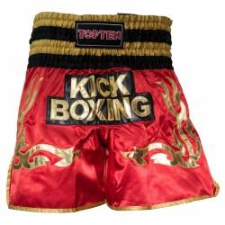 Top Ten Wako Kickbox Shorts Rot