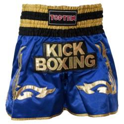 Top Ten Wako Kickbox Shorts Blau