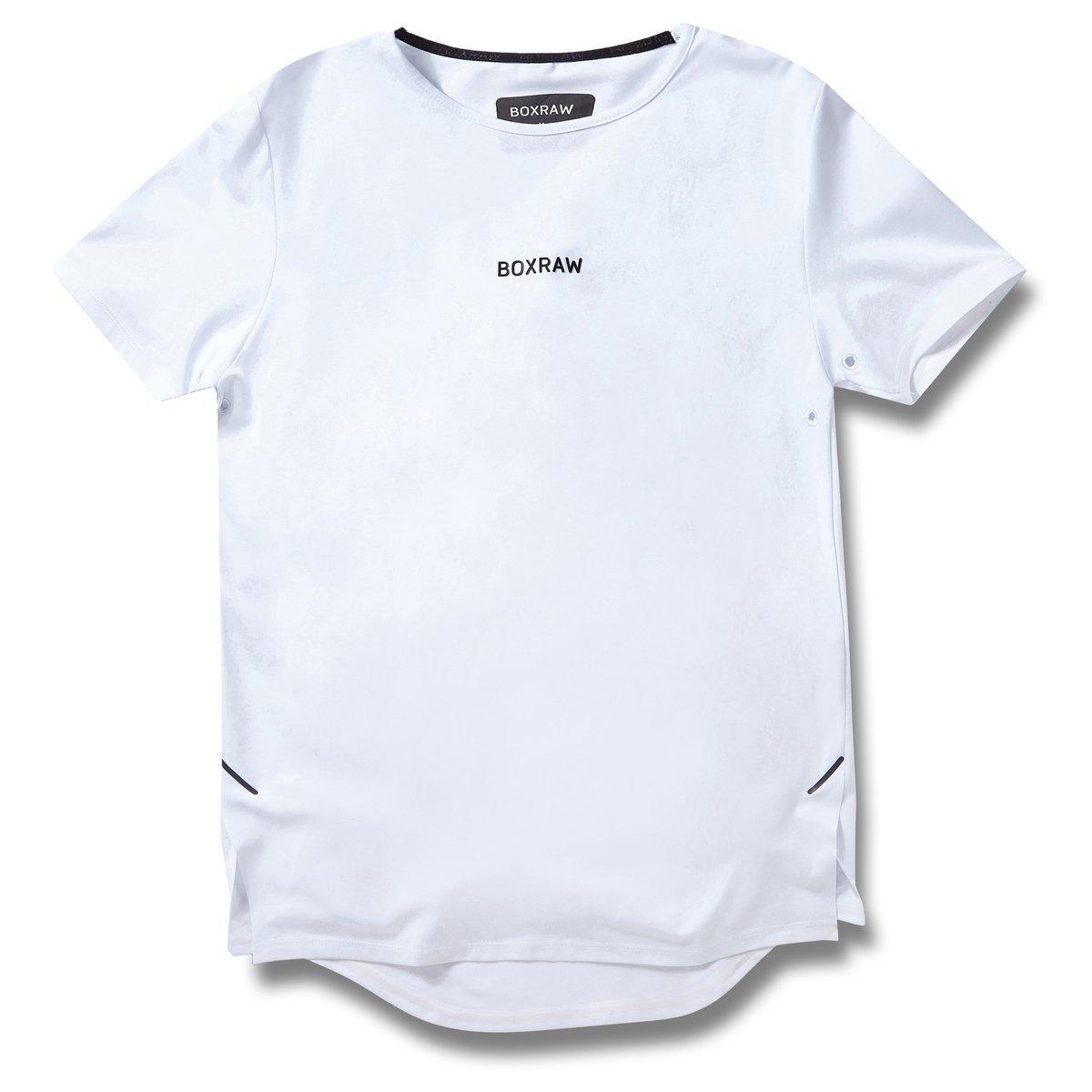 BOXRAW SMRT-TEC T-Shirt Weiß