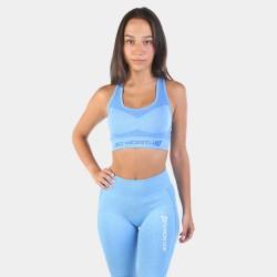 Jed North Supple Seamless Sports Bra Blue