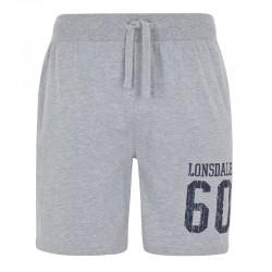Lonsdale Dounreay Herren Jersey Short Marl Grey