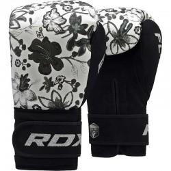 RDX Boxhandschuh Floral FL-4 weiss