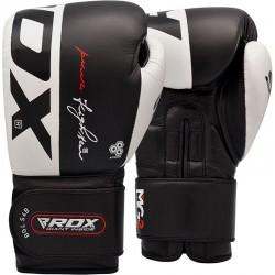 RDX Boxhandschuh Leder S4 schwarz