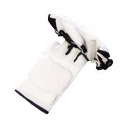 Taekwondo Competition Wettkampf Handschuhe Weiss Schwarz