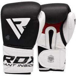 RDX Boxhandschuh Leder S5 schwarz