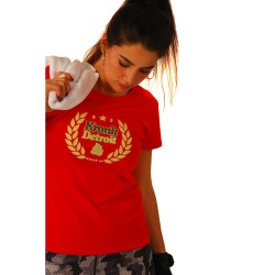 Kronk Laurel Wreath T-Shirt Red