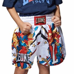 Leone 1947 Junior Thai Shorts Hero weiss