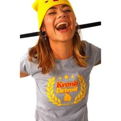 Kronk Laurel Wreath T-Shirt Sport Grey