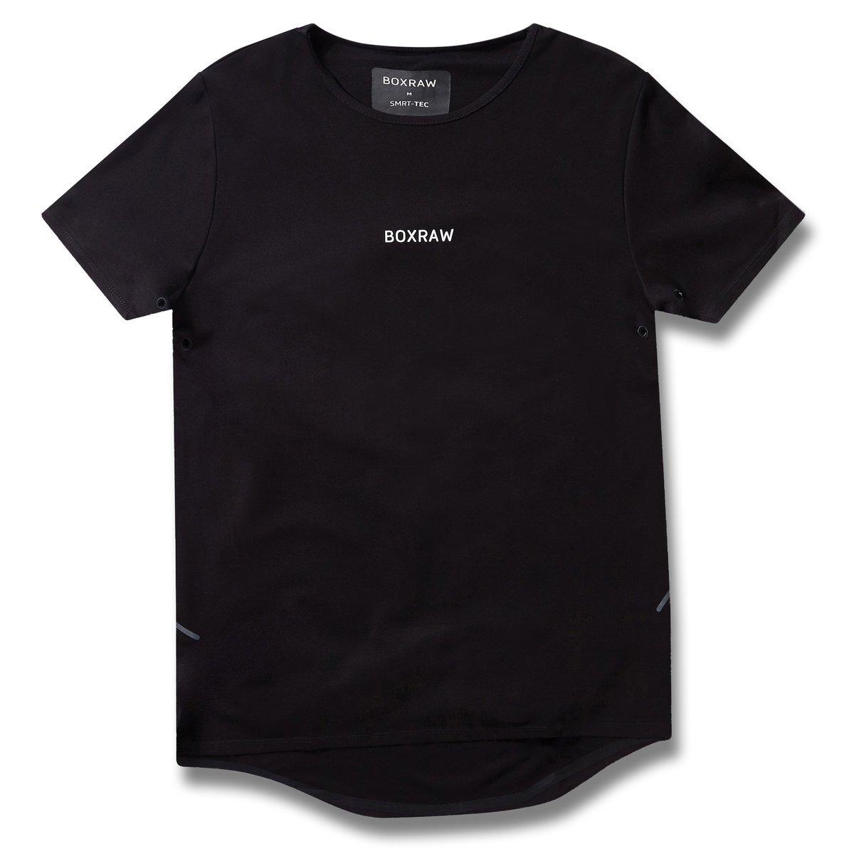 BOXRAW SMRT-TEC T-Shirt Schwarz