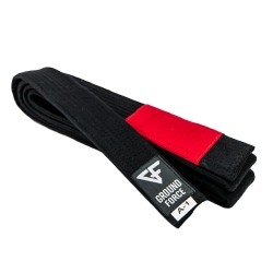 Ground Force BJJ Belt Black