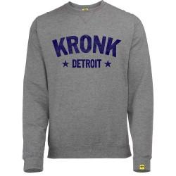 Kronk Detroit Stars Vintage Sweatshirt Grey Heather