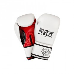 Benlee Artif. Leather Boxing Gloves Carlos white
