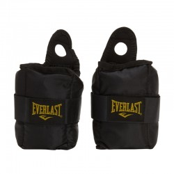 Everlast Ankle Wrist Weights 2.5Lbs Black EV2754