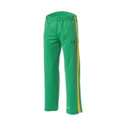Kwon Capoeira Hose grün gelb