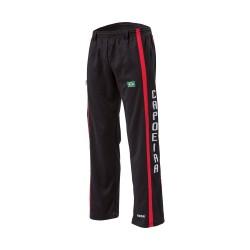Kwon Capoeira Hose schwarz rot