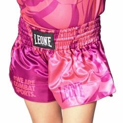 Leone 1947 Junior Thai Shorts Mascot pink