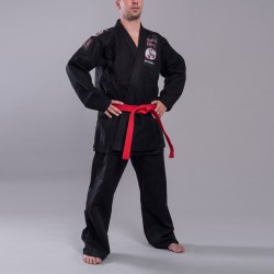 Abverkauf Phoenix BJJ MMA Anzug Budos Finest Black