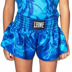 Leone 1947 Junior Thai Shorts Mascot blau