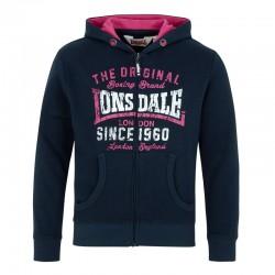 Lonsdale Saunderton Mädchen Zipsweater