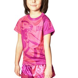 Leone 1947 Junior T-Shirt Mascot pink