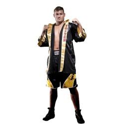 Top Ten Get In The Ring Boxmantel Schwarz Gold