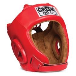 Green Hill Fivestar AIBA Kopfschutz Rot