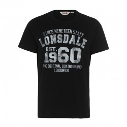 Lonsdale Liverpool Herren T-Shirt Black