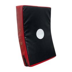Schlagpolster Gekrümmt Schwarz Rot