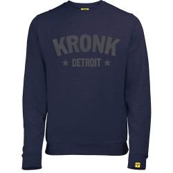 Kronk Detroit Stars Vintage Sweatshirt Navy Heather